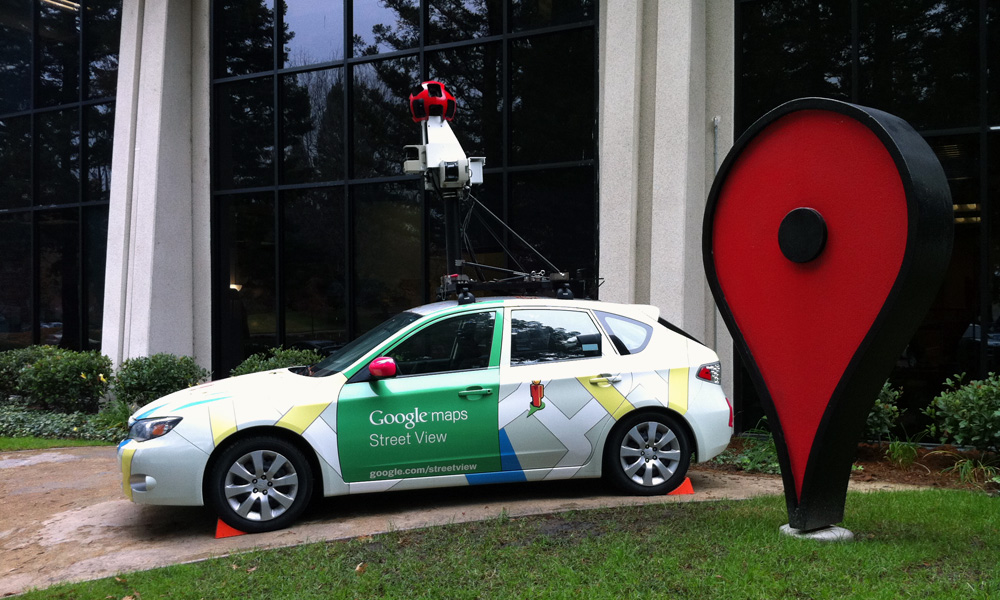 Blog: Google's Street View Captures More Than Just Pictures