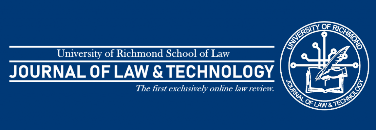 e9de065bb4361 JOLT Editor – Page 3 – Richmond Journal of Law and Technology